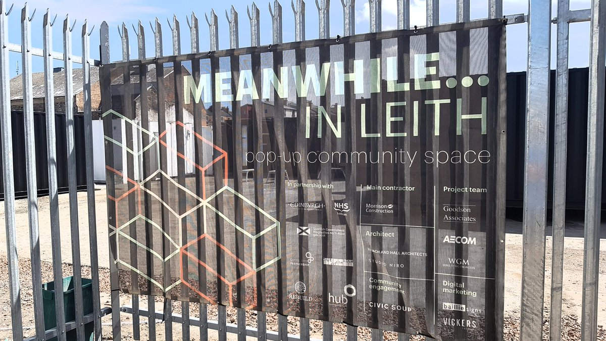 Meanwhile in leith - Rebuild